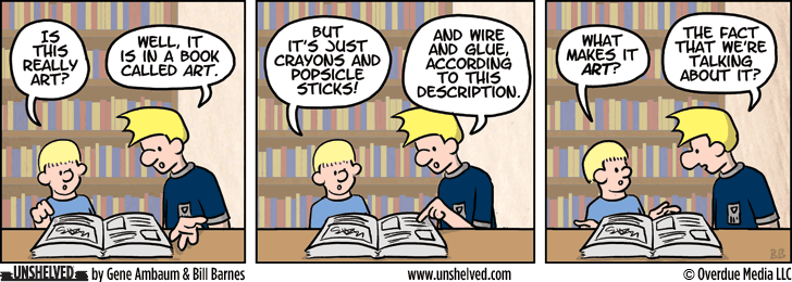 Unshelved comic strip for 6/16/2014
