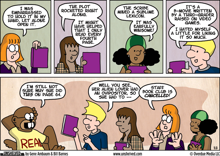 Unshelved comic strip for 6/19/2014
