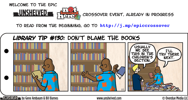 Unshelved comic strip for 6/23/2014