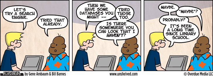 Unshelved strip for 6/24/2014