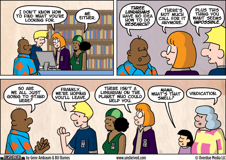 Unshelved comic strip for 6/26/2014