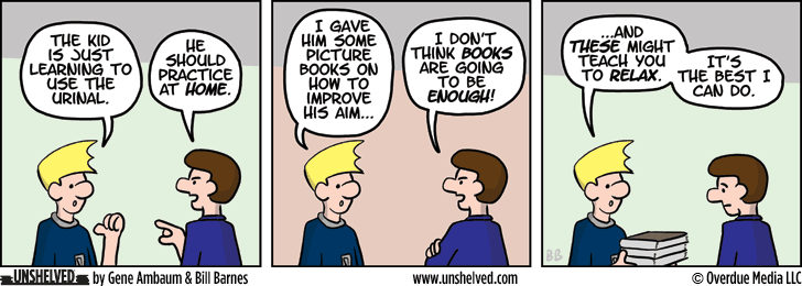 Unshelved comic strip for 7/10/2014