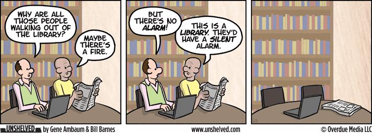 Unshelved comic strip for 7/16/2014