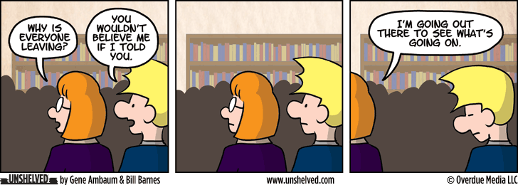Unshelved comic strip for 7/17/2014