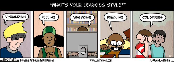 Unshelved strip for 7/21/2014