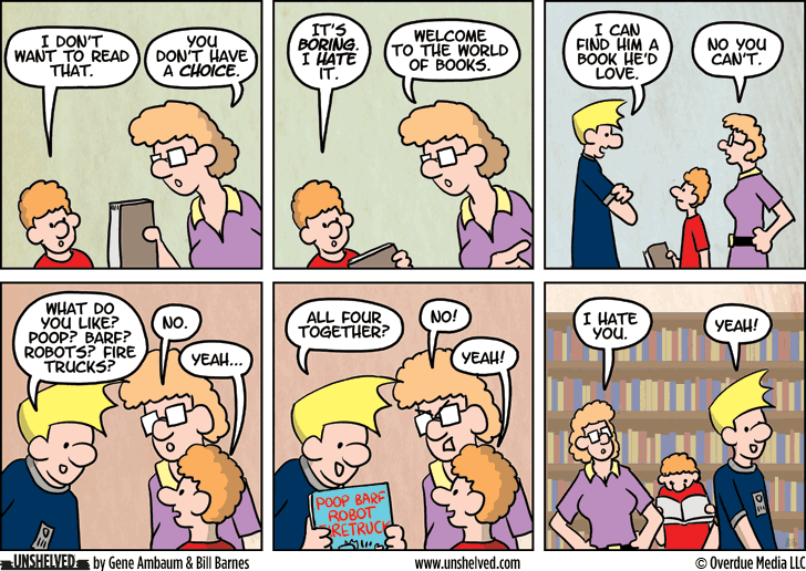 Unshelved comic strip for 7/22/2014