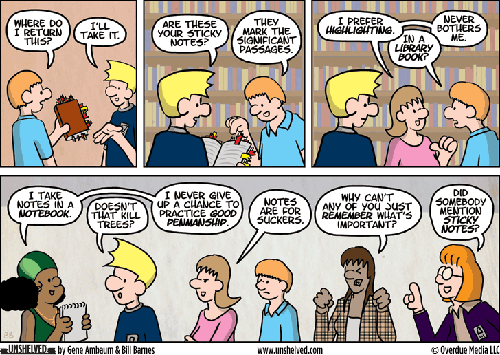 Unshelved comic strip for 7/24/2014