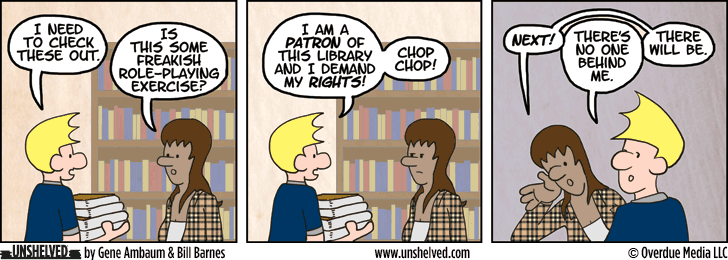 Unshelved comic strip for 8/5/2014