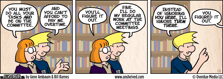 Unshelved comic strip for 8/13/2014