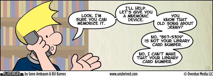 Unshelved comic strip for 8/19/2014
