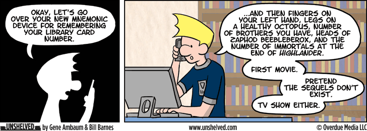 Unshelved strip for 8/20/2014