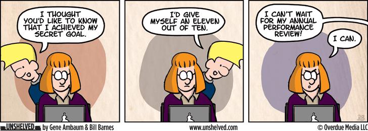 Unshelved strip for 8/28/2014