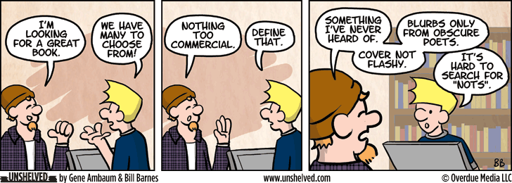 Unshelved strip for 9/1/2014