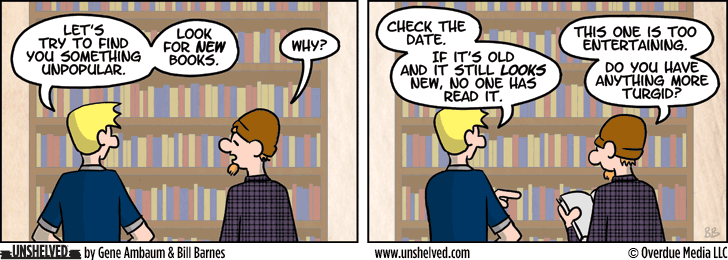 Unshelved strip for 9/2/2014