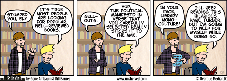 Unshelved comic strip for 9/4/2014