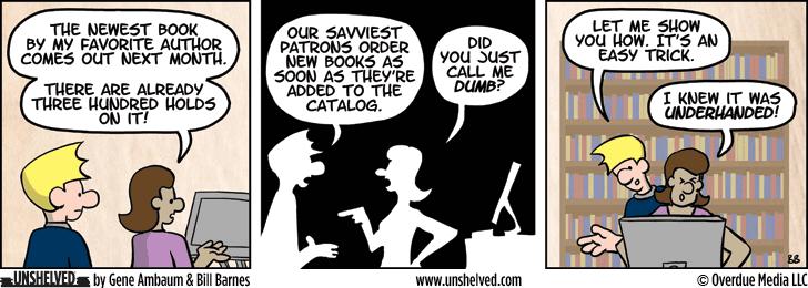 Unshelved comic strip for 9/8/2014
