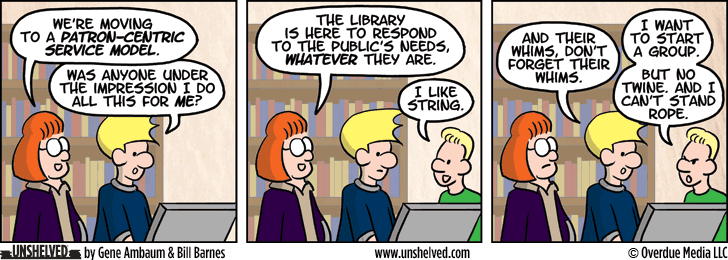 Unshelved comic strip for 9/15/2014