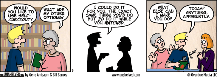 Unshelved comic strip for 9/16/2014