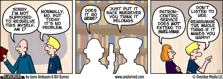 Unshelved strip for 9/17/2014