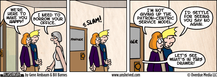Unshelved comic strip for 9/18/2014