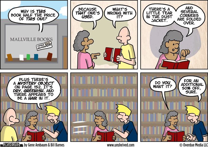 Unshelved comic strip for 9/24/2014