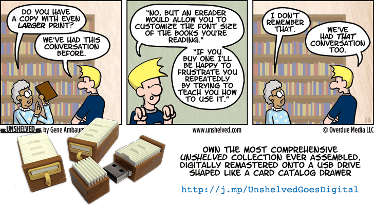 Unshelved strip for 9/29/2014