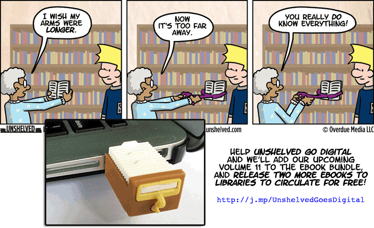 Unshelved comic strip for 10/1/2014