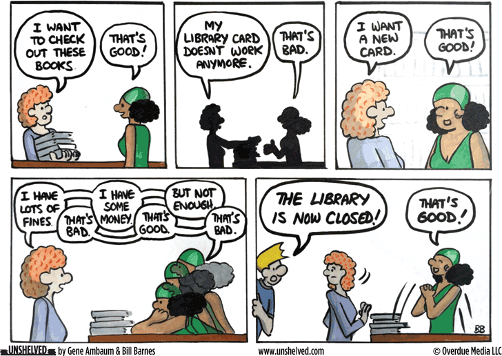 Unshelved comic strip for 10/2/2014