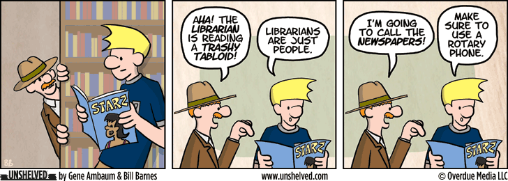 Unshelved comic strip for 10/6/2014