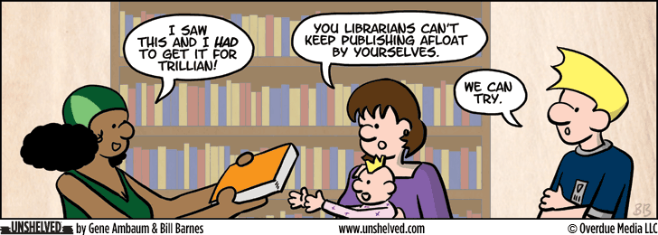 Unshelved comic strip for 10/15/2014