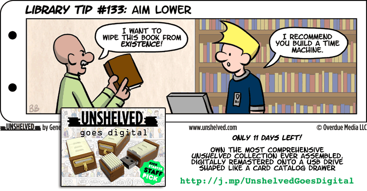 Unshelved comic strip for 10/16/2014