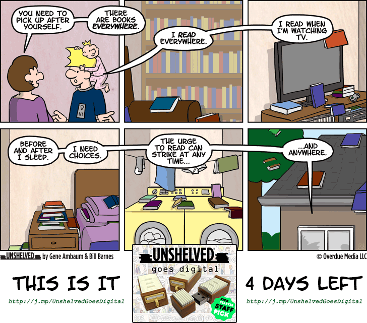 Unshelved comic strip for 10/23/2014