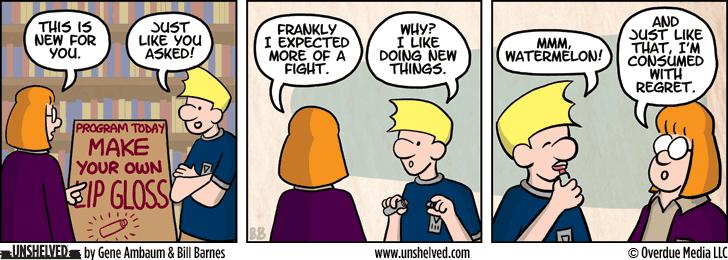 Unshelved comic strip for 10/28/2014