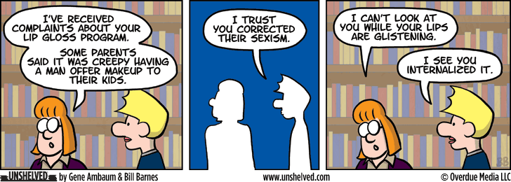 Unshelved comic strip for 10/29/2014
