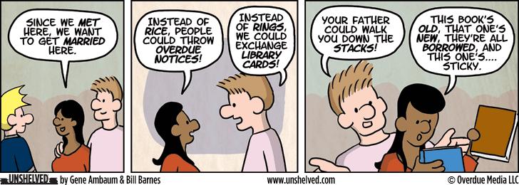 Unshelved comic strip for 11/4/2014