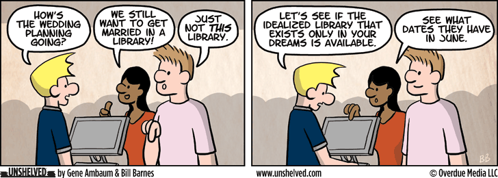 Unshelved comic strip for 11/6/2014