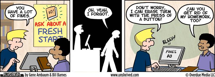 Unshelved comic strip for 11/12/2014
