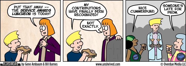 Unshelved comic strip for 11/24/2014
