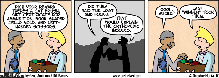 Unshelved comic strip for 11/25/2014