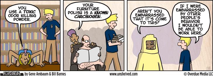 Unshelved comic strip for 12/9/2014