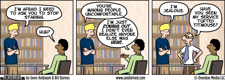 Unshelved comic strip for 12/29/2014