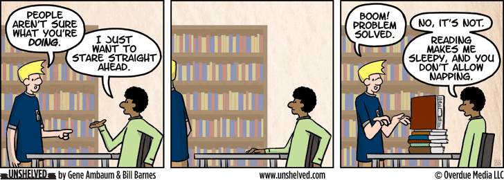 Unshelved comic strip for 12/31/2014