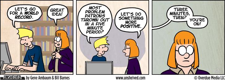 Unshelved comic strip for 1/6/2015