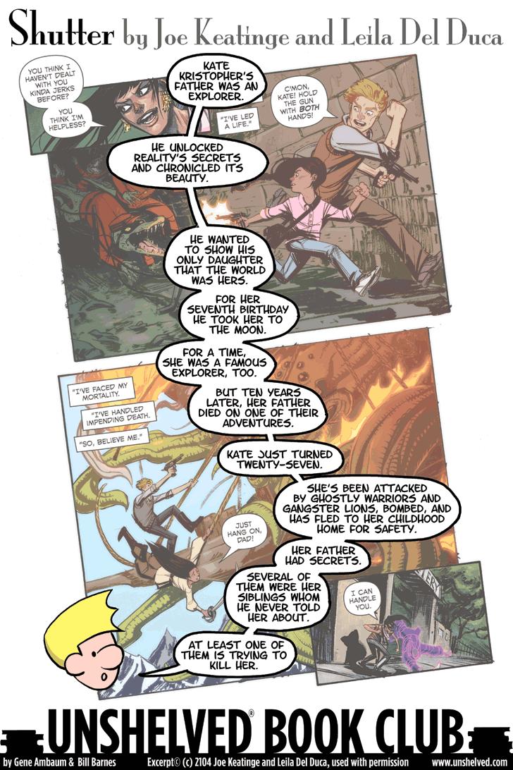 Unshelved comic strip for 1/9/2015