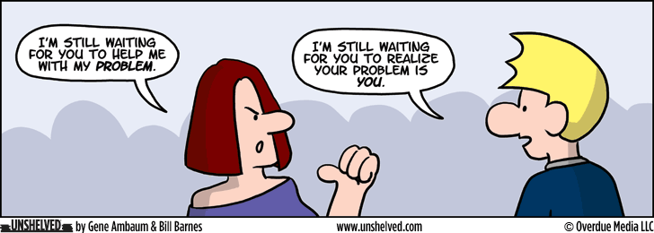 Unshelved comic strip for 1/12/2015
