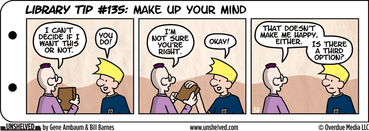Unshelved comic strip for 1/15/2015