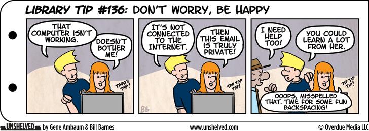 Unshelved comic strip for 1/19/2015
