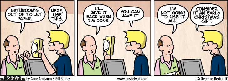 Unshelved comic strip for 1/21/2015