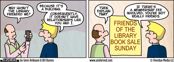 Unshelved comic strip for 1/22/2015