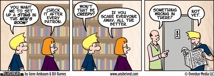 Unshelved comic strip for 1/27/2015